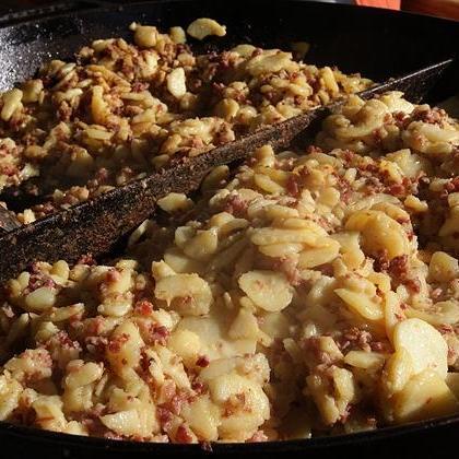 Bratkartoffelpfanne aus unserem Catering-Angebot